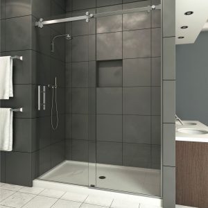 Canyon Frameless Glass Shower Enclosure Sliding Door Upgrade 0.375 thick