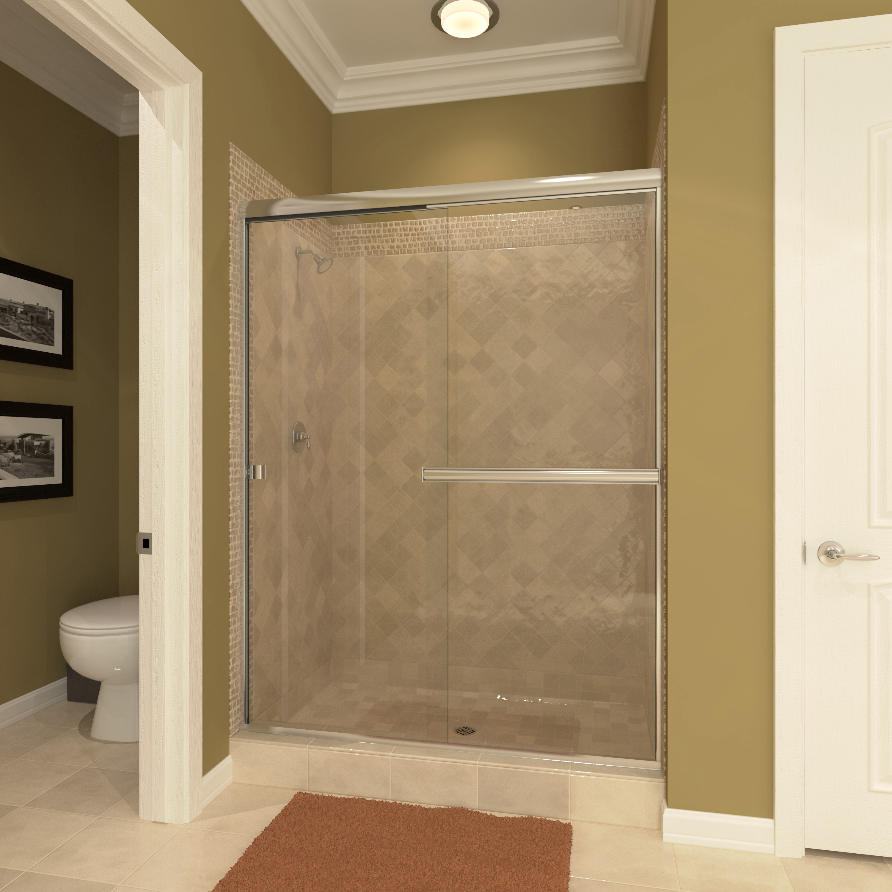 LESE Euro Glass Shower Enclosure 0.1875 thick