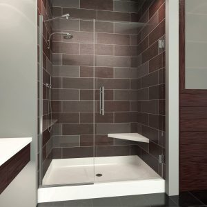 Scottsdale Frameless Glass Shower Enclosure 0.375 thick