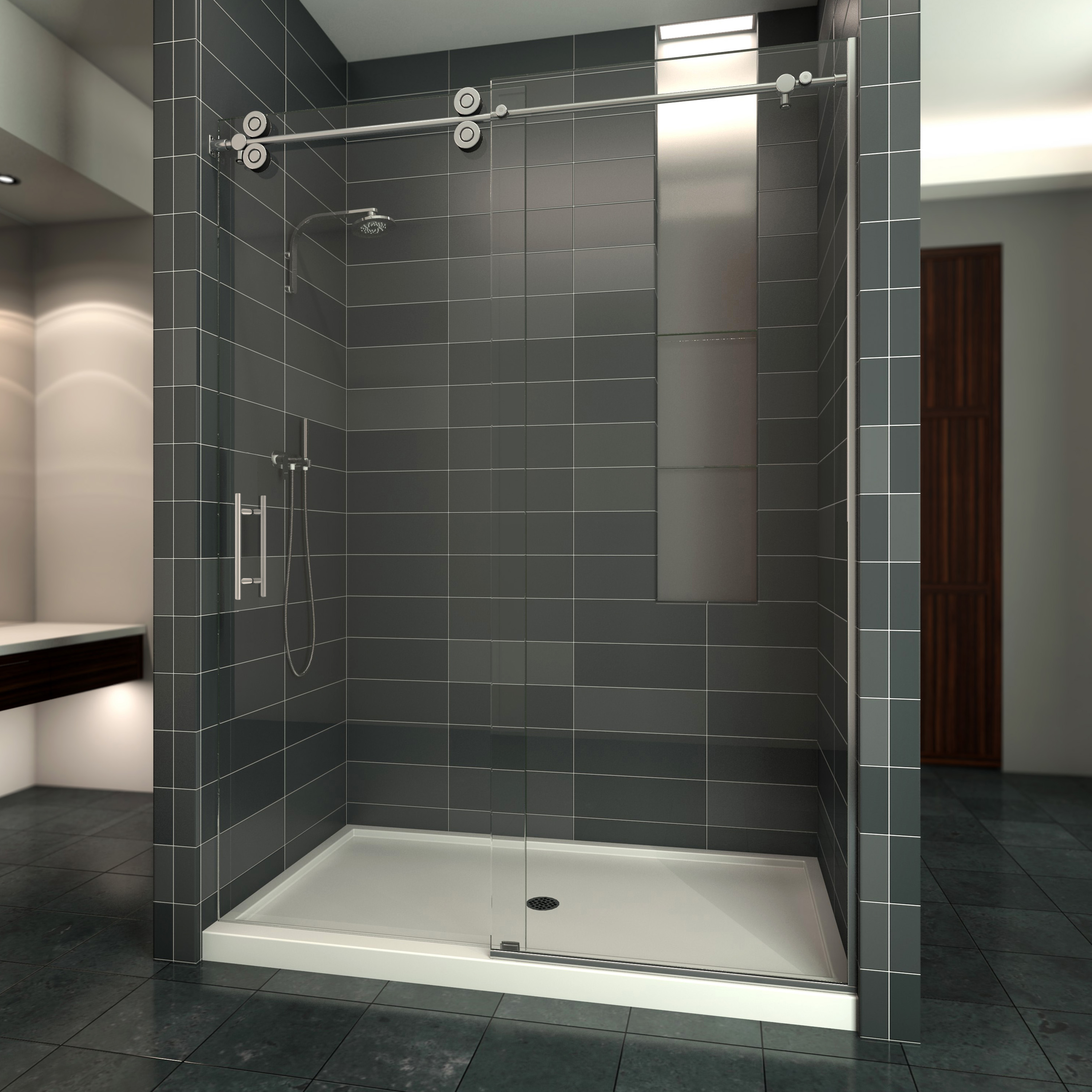Glass Shower Tub Enclosures In Phoenix Sr Windows Glass